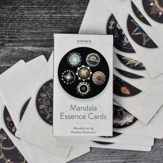 Nature's Narrative Mandala Essence Cards 1   Barbara Seie
