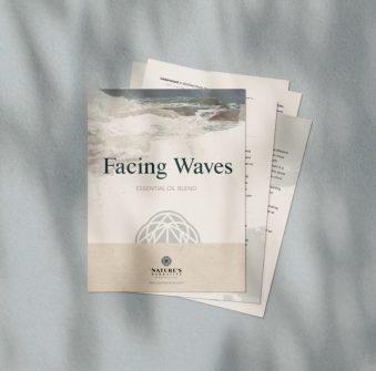Facing Waves Mockup Free Download Nature's Narrative